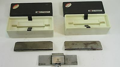 3 Lot Microtome Knife Blades in Original Box / 2 American Optical and 1 Spencer