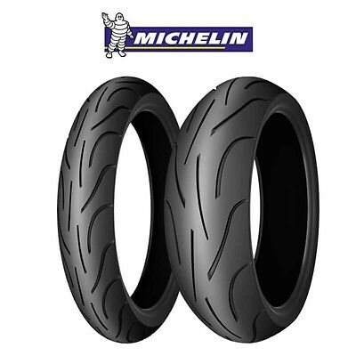 Motorcycle Sport Tyres MICHELIN PILOT POWER 2CT 120/70/ZR17 & 180/55/ZR17 PAIR