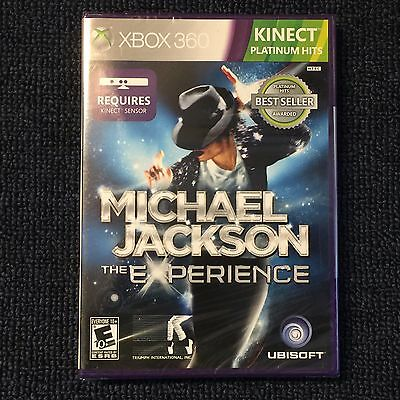 MICHAEL JACKSON The Experience XBOX 360 KINECT *Required (Sealed, 3pics) =NEW