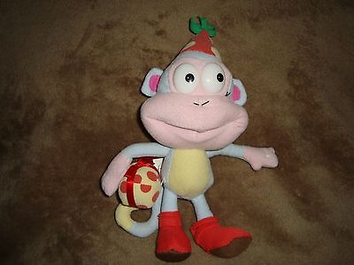 "Dora the Explorer Monkey BOOTS Birthday Party Present 8"" 2005 Nanco"