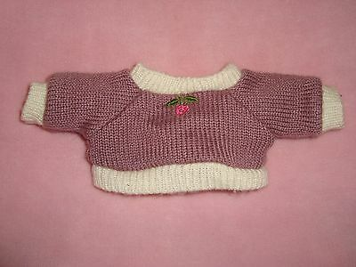 Fisher Price Briarberry Clothes Briarwear Purple mauve knitted sweater