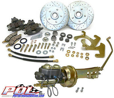 1949-54 Chevy Car Front Disc Brakes Kit