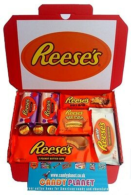 Reese's Trees Peanut Butter Chocolate Cups Hamper American Candy Christmas Gift
