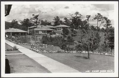 Philippines Baguio City Camp John Hay real photo postcard, unused