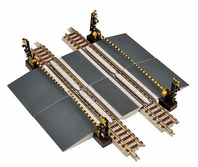 New (without Track) 1 x TOMYTEC Dual Track Level Crossing With Gates