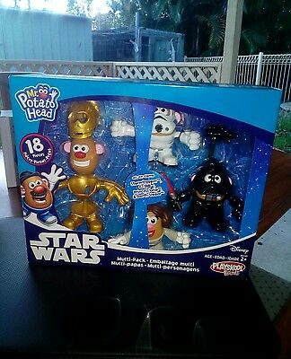 star wars mr potato head playskool friends 18 pc