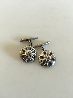Georg Jensen Silver Cuff Links #4