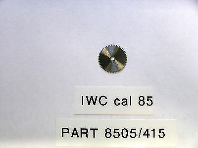 IWC cal 85 ratched wheel / sperrad part  85 05                415