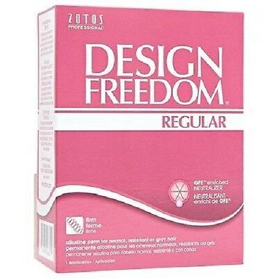 Freedom Design REGULAR Perm Kit - Firm Curl For Normal, Resistant or Grey Hair