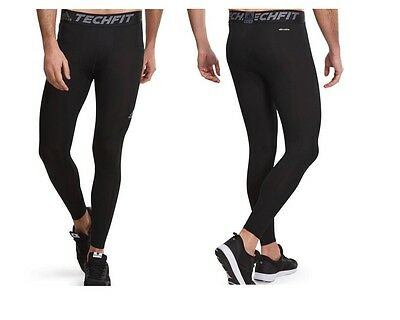 Adidas Mens Techfit Climalite Training Fitness Muscle Support Leggings Tights
