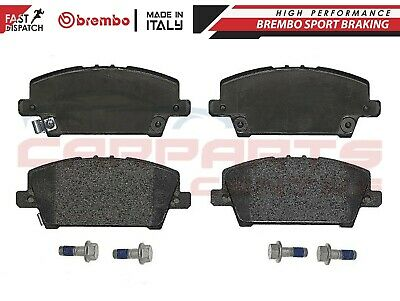 For	Honda Civic Viii Genuine Brembo Premium Brake Pads Pad Set Front Axle P28037