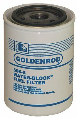GOLDENROD (596-5) Fuel Tank Filter Replacement Water-Block Canister