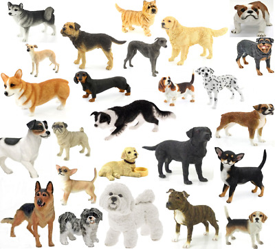 Leonardo Dog Studies Collectible Dog Figurines Many Different Breeds Available