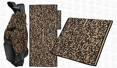 Club Glove Tandem Caddy Towel including pocket towel - Camouflage - NEW COLOUR