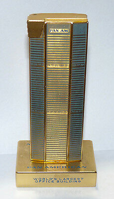 Pan Am Airlines Building Tower NY New York City Lighter Rare