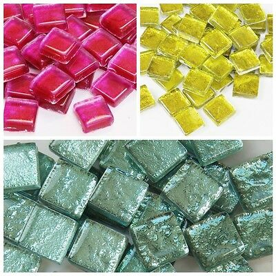 12mm Luminescence Mosaic Tiles - 50g in a choice of colours