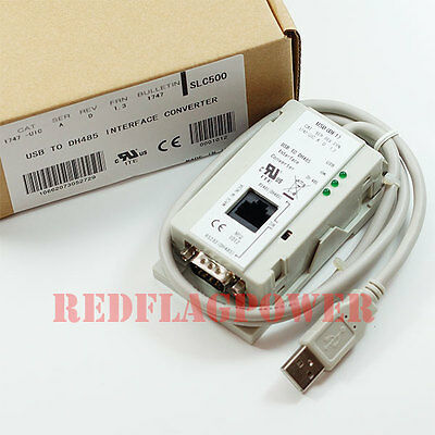 1747-UIC USB cable to DH-485 for Allen Bradley PLC SLC500 interface converter