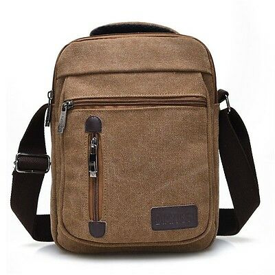 Canvas Multifunctional Portable Casual Retro Shoulder Crossbody Bag Handbag