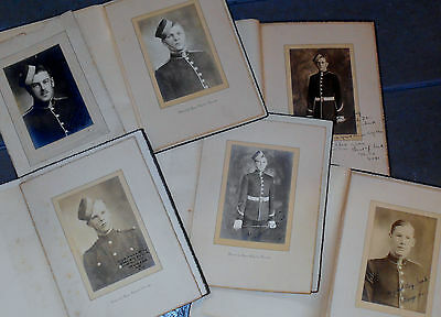 Royal Military College Canada RMC Cadet Photograph Signed Lot (x6) c1929