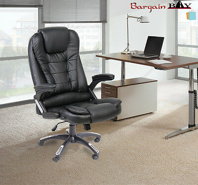 Executive Office Chair Swivel Leather with Tilt and Reclining Function Brand New