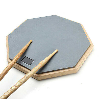 12'' Rubber Practice Drum Pad Silence Drum For Beginner