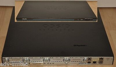 CISCO 2901/K9 - License ipbasek9 + uck9 / PWR-2901-POE - 512MB DRAM