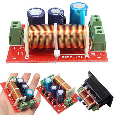 Adjustable Treble/Bass Frequency Divider 2 Way Speaker Audio Crossover Filters