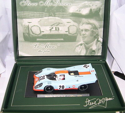 qq FLY SM3 PORSCHE 917K 24H LE MANS 1970 STEVE MCQUEEN COLLECTION  LTED.ED  MB