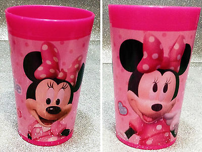 Disney Minnie Mouse Bicchiere In Plastica Plastic Glass Club House
