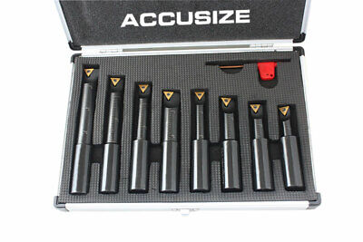 """3/4"""", .75in Round Shank, 90 Degree, Indexable Boring Bar Set, #2627-9108"""