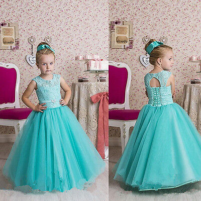 Flower Girl Dresses Birthday Wedding Bridesmaid Formal Party Pageant Prom Dress