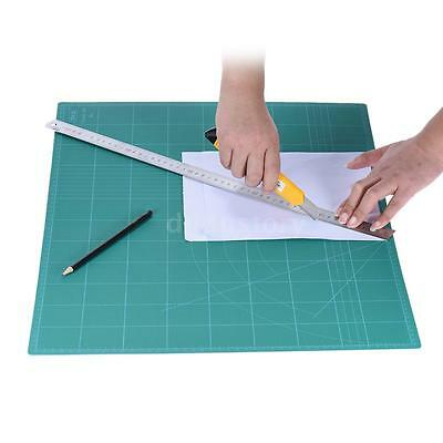 Double-Sided 5-Ply Paper Cutting Mat Durable PVC A2 Cutting Mat 60cm×45cm F3D8