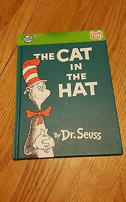 Leap frog TAG Book-Hard COVER--    Dr.seuss..THE CAT IN THE HAT