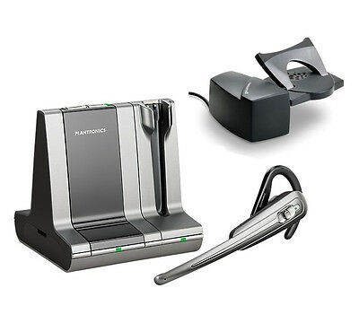 Plantronics WO100 Savi Office Wireless Headset System + HL10 Lifter (C)