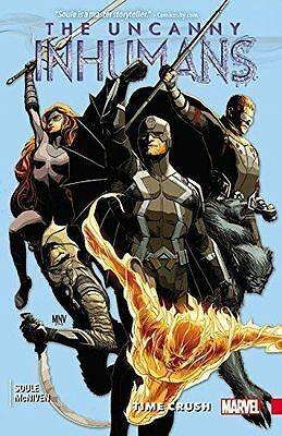 UNCANNY INHUMANS TP VOL 01. Soule/McNiven BRAND NEW on hand IN AUSTRALIA!