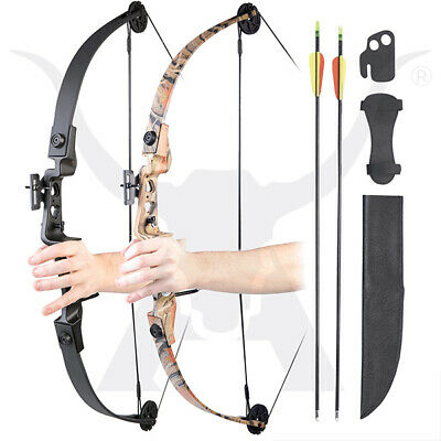 Apex Hunting Champion II ELITE Compound Bow - 19-29lbs Youth Archery Set