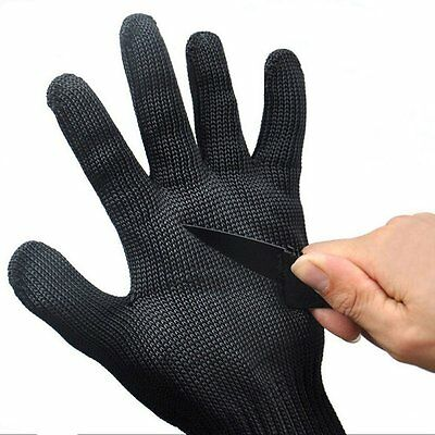 Safety Cut Proof Stab Resistant Stainless Steel Metal Mesh Glove for Butcher AU