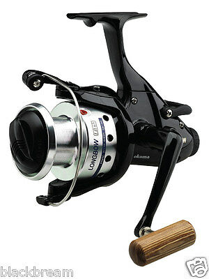 Okuma Longbow Lb30 Baitfeeder Free Spool Reel Carp Barbel Pike Perch Spare Spool