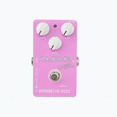 Caline CP-32 (Clear Veil) Overdrive Fuzz Effects Pedal