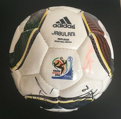Spain Signed Jabulani World Cup Winners Football 2010 *extremely Rare*