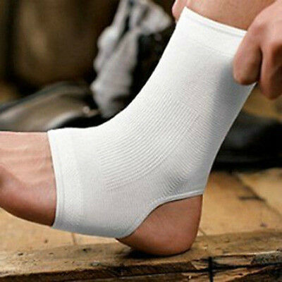 Elastic Ankle Support Protection Sport Sock Running Injury Sprain Brace Foot
