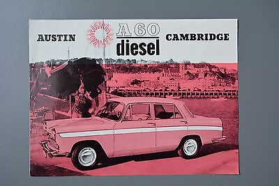Vintage Brochure: Austin A60 Cambridge Diesel, No.2110/F 1960's