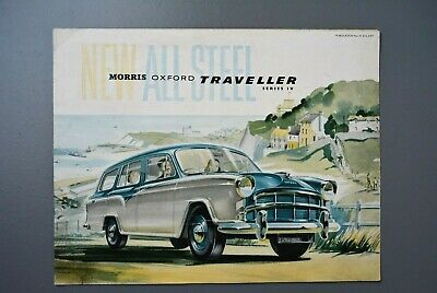 Vintage Brochure: Morris  BMC Oxford Traveller Estate H&E 5757