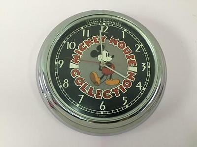 Extremely Rare! Disney Mickey Mouse Collection Demons & Merveilles Wall Clock