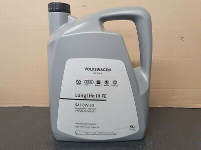 Genuine Quantum Longlife 3 5W-30 Fully Synthetic Oil 5L VW GOLF POLO PASSAT EOS