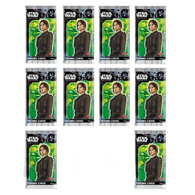Topps Star Wars Rogue One Trading Cards 10X Sealed Packets