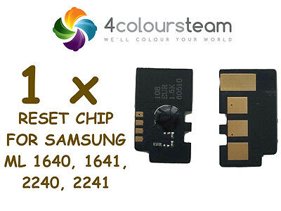 1x TONER RESET CHIP FOR SAMSUNG ML 1640 1641 2240 2241 ML1640 ML2240 MLT-D1082