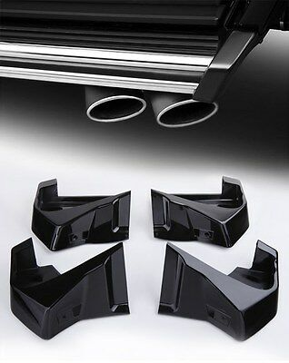 X4 New Running Board End Covers Caps for Mercedes G Class W461 W463 G500 G55 AMG