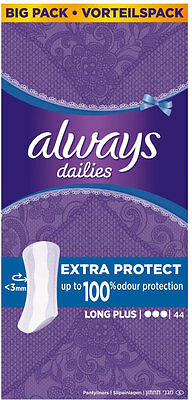 Always Dailies Pantyliners - Long Plus (44)