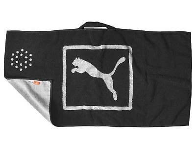 Puma Jacquard Players Towel - Black